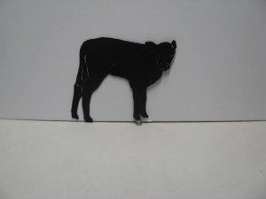 Cow 072 Western Metal Wall Yard Art Silhouette