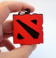 Handmade Dota 2 keychain