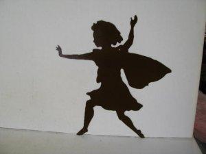 Fairy C Metal Wall Yard Art Silhouette