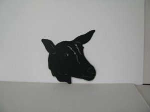 Goat 017 Metal Wall Yard Art Silhouette