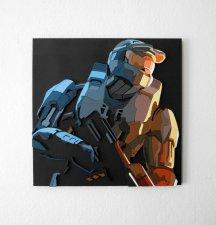 Handmade Halo 3 wall hanging