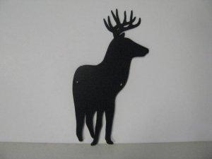 Whitetail Deer 154 Metal Art Wildlife Silhouette