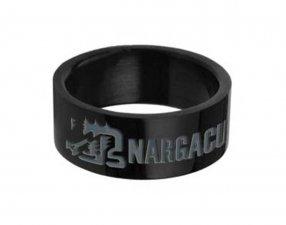 Monster Hunter Nargacuga Black Stainless Steel Ring