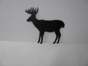 Buck 037 Large Standing Wildlife  Metal Art Silhouette