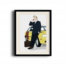 Better Call Saul, Saul Goodman minimalist poster, Better Call Saul digital art poster