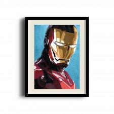 Iron Man, Tony Stark digital art poster (11 x 17 inch, A3)