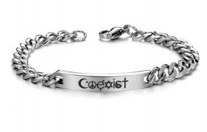 Coexist  Stainless Steel Bracelet