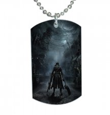 BLOODBORNE Dog Tag Pendant Necklace