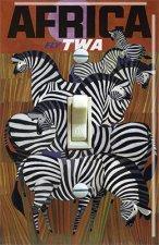 Africa TWA  Vintage Travel Poster (Single)