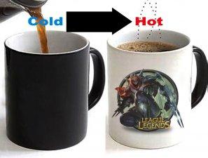 League of Legends Zed Changing Ceramic Coffee Mug CUP 11oz
