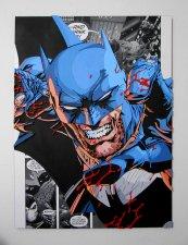 Handmade Batman wall piece, Batman wood wall art