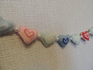 Holiday decor, Valentines day decor, wall decor, Holiday garland, wedding decor, valentine's day,interior nursery
