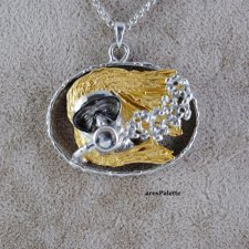 Woman Diver Necklace