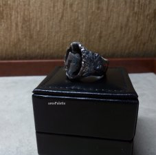Spartan Ring-Special design_Fully handmade-925 Silver-Warrior Ring