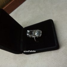Cabriolet Car Ring-925 Silver-Handmade-Car Jewelry