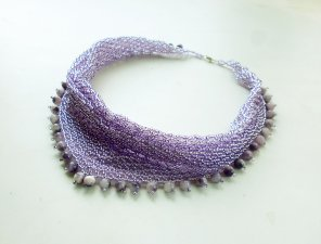 "necklace ""blooming lilacs"""