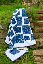 Quilt | Twin Quilt | Indigo Quilt | Blue Quilt | Cotton Quilt | Patchwork Quilt | Indian Quilt | Handmade Quilt