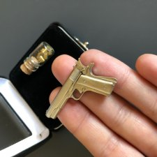 Miniature 2mm pinfire gun Colt 1911
