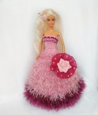"""Handmade clothes for fashion dolls Knitted dresses for Barbie New collection 12"""""""