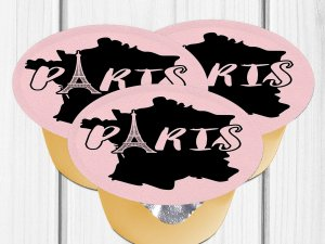 Paris Birthday Party, Paris Applesauce Label, Paris Baby Shower, Paris Sweet 16, Paris Party Favors, Paris Party Decor, Juice Label, Digital