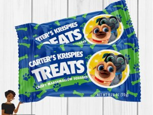 Puppy Dog Pals Birthday Party, Puppy Dog Pals , Custom Rice Krispie Label, Puppy Dog Pals Favor, Decor, 1st Birthday
