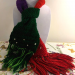 "Disney Collection - kids ""Little Mermaid"" Ariel inspired scarf - crocheted scarf, red, purple, green, shell beads"