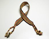 Black, Yellow, Red Friendship Bracelet