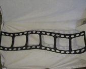 35MM Film  Strip Metal Wall Art Silhouette