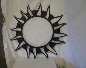 Sun Star Designs 066 Metal Yard Wall Art Silhouette