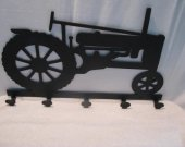 Tractor 039 Coat Rack Metal Farm Wall Art Silhouette