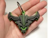 Handmade Outworld Devourer, Dota 2 keychain