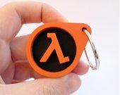 Handmade Half Life keychain