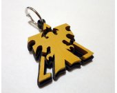 Handmade Starcraft 2 terran keychain