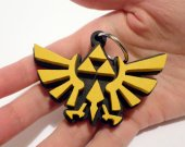 Handmade The legend of Zelda keychain