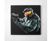 Handmade Halo: Combat Evolved Anniversary wall hanging