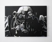 Handmade Fallout 3 wall art (Large)