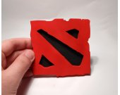 Handmade Dota 2 coaster, version 2