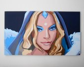 Crystal Maiden, Dota 2 portrait