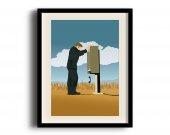 Better Call Saul, Saul Goodman minimalist poster, Better Call Saul digital art poster V3