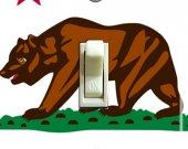 CALIFORNIA Flag Switch Plate (single)