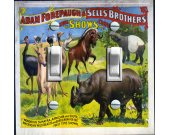 Vintage Circus Poster - Adam Forepaugh & Sell Bros.