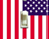 US FLAG Switch Plate (single)