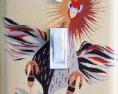 HAVANA Bird Braniff Switch Plate (single)