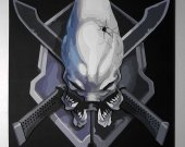 Handmade Halo Legendary Symbol
