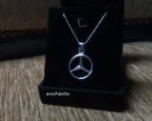 Mercedes Benz Necklace-925 Silver and Handmade Mercedes Necklace