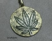 Marijuana Pendant