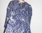 Size M Vintage Purple linned  dress