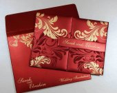 Hardcover premium Indian Wedding Invitation