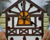 Wood Wall Clock GH