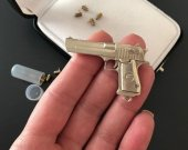 2mm pinfire gun Desert Eagle